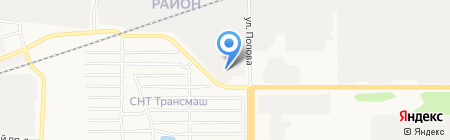ГПМ-Сервис на карте Барнаула