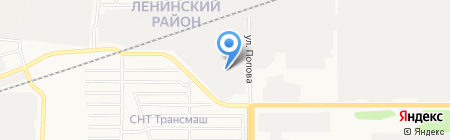 АлтайМоторСервис на карте Барнаула