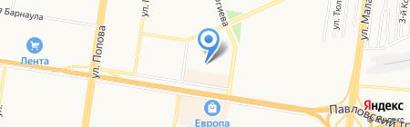 Детский сад №188 на карте Барнаула