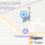 Технологии Металлообработки на карте Барнаула