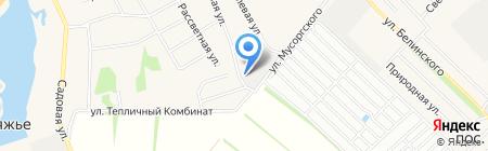 НК Плюс на карте Барнаула