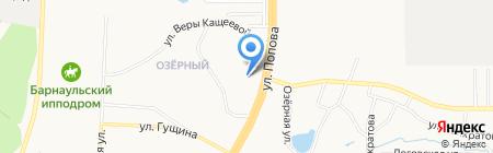 Стоматологическая поликлиника №2 на карте Барнаула