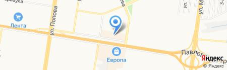 MEN`Sline на карте Барнаула
