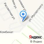 Ремсельбурвод на карте Барнаула