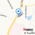 АвтоТон на карте Барнаула