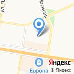 Детский сад №188 комбинированного вида на карте Барнаула