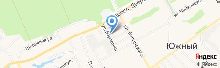 Мебель Град на карте Барнаула