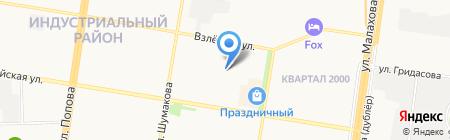 Воскресная школа на карте Барнаула