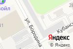 Схема проезда до компании Мебель Град в Барнауле