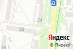 Схема проезда до компании ДентАлекс в Барнауле