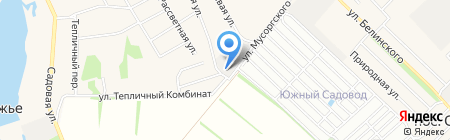 Машзавод ЭТС на карте Барнаула