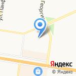 Лакт на карте Барнаула