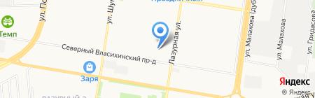 Юридическая помощь на карте Барнаула