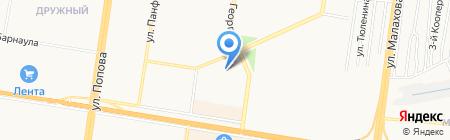 LOUNGE BAR на карте Барнаула