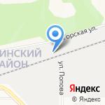 БарнаулБурВод ПМК-3 на карте Барнаула