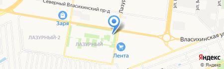 Сибирская аптека на карте Барнаула