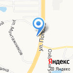 Золушка на карте Барнаула