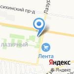 Линзочки на карте Барнаула