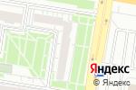 Схема проезда до компании Bar-Flowers в Барнауле