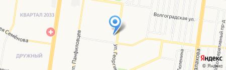 Альф на карте Барнаула