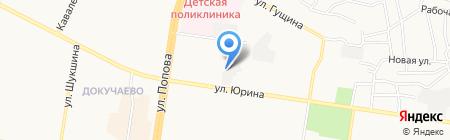 АвтоКузов на карте Барнаула