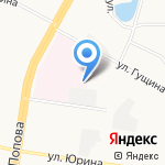 Алтайская краевая клиническая детская больница на карте Барнаула