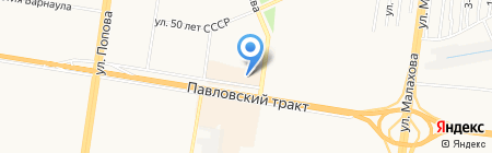 Аллекс на карте Барнаула