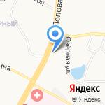 Фортуна плюс на карте Барнаула