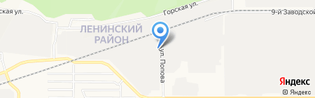 БиоСфера на карте Барнаула