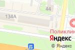 Схема проезда до компании Normann в Барнауле