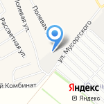 КомплексСнаб на карте Барнаула