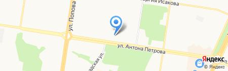 ЖУ №11 на карте Барнаула