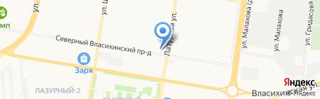 IССледование на карте Барнаула