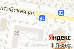 Схема проезда до компании Cox Fit в Барнауле