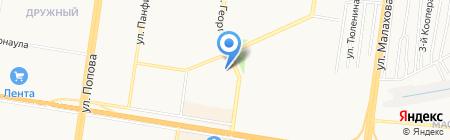 Книжный мир на карте Барнаула