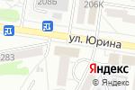 Схема проезда до компании Авва в Барнауле