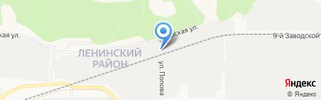 Ладья на карте Барнаула