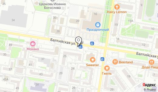 Лига-Пресс. Схема проезда в Барнауле