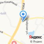 Магазин памятников на карте Барнаула