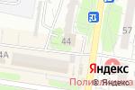 Схема проезда до компании INBI World в Барнауле