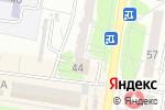 Схема проезда до компании Букинистический магазин в Барнауле