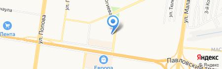 У Шемаханской на карте Барнаула