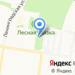 Кокос на карте Барнаула