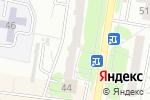 Схема проезда до компании Краски в Барнауле