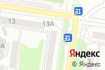 Схема проезда до компании Одиссея в Барнауле