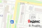 Схема проезда до компании Тиана в Барнауле