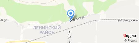 colore style на карте Барнаула