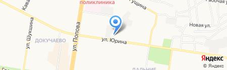 Бактериологическая лаборатория на карте Барнаула