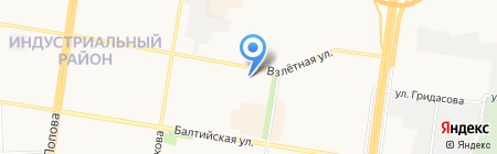 Магис-Спа на карте Барнаула