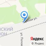 Анаида на карте Барнаула
